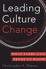 Leading Culture Change