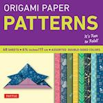 Origami Paper - Patterns - Small 6 3/4