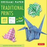 Origami Paper Traditional Prints af Not Available