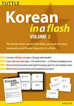 Korean in a Flash Kit Volume 2 af Soohee Kim