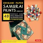 Origami Paper Samurai Prints, Large 8 1/4