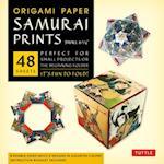 Origami Paper Samurai Prints, Small 6 3/4