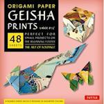 Origami Paper Geisha Prints