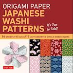 Origami Paper: Japanese Washi Patterns