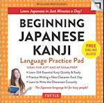 Beginning Japanese Kanji Language Practice Pad (Tuttle Practice Pads)
