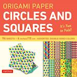 Origami Paper Circles and Squares 6