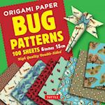 Origami Paper 100 sheets Bug Patterns 6