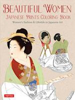 Beautiful Women Japanese Prints Coloring Book