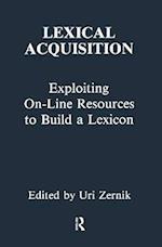 Lexical Acquisition