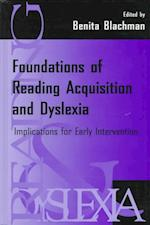 Foundations of Reading Acquisition and Dyslexia af Blachman, Benita Blachman