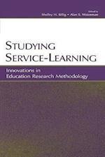 Studying Service-Learning: Innovations in Education Research Methodology af Billig, Marijane Osborn