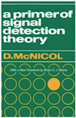 Primer of Signal Detection Theory af Donald Mcnicol