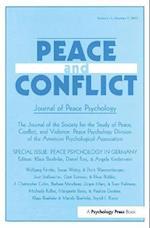Peace Psychology in Germany af Klaus Boehnke