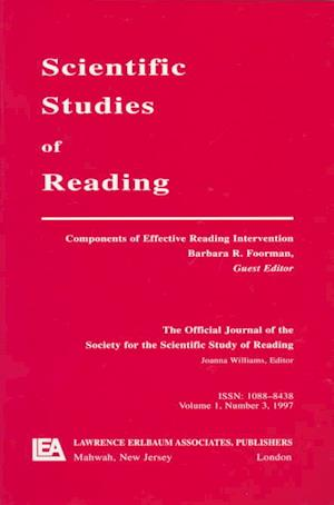 Components of Effective Reading Intervention