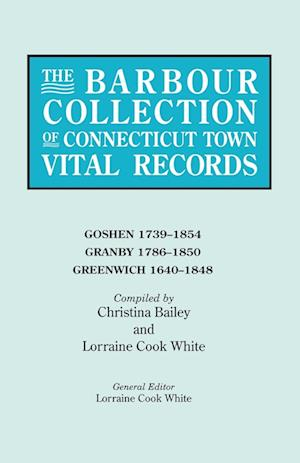 The Barbour Collection of Connecticut Town Vital Records. Volume 14
