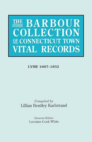 The Barbour Collection of Connecticut Town Vital Records. Volume 24