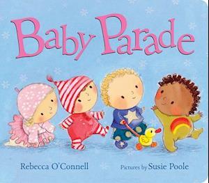 Bog, ukendt format Baby Parade af Rebecca O'Connell