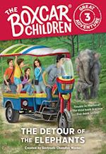 The Detour of the Elephants (Boxcar Children Great Adventure, nr. 3)