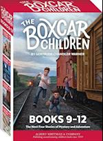 The Boxcar Children Mysteries Boxed Set #9-12 (Boxcar Children Mysteries)