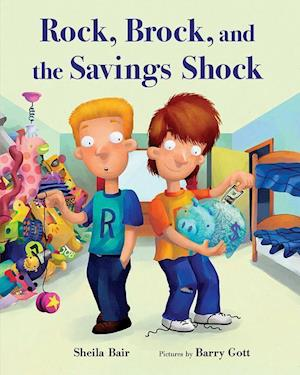 Bog, paperback Rock, Brock, and the Savings Shock af Sheila Bair