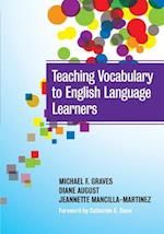 Teaching Vocabulary to English Language Learners (Language and Literacy Series)