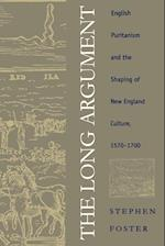 Long Argument (Published for the Omohundro Institute of Early American Hist)