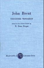 John Brent af Theodore Winthrop