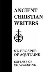 Defence of Saint Augustine (ANCIENT CHRISTIAN WRITERS, nr. 32)