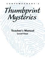 Thumbprint Mysteries Level Four, Teacher's Manual (Thumbprint Mysteries)