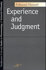 Experience and Judgment (Northwestern University Studies in Phenomenology Existenti)