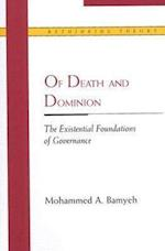 Of Death and Dominion (Rethinking Theory Paperback)