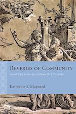 Reveries of Community (Rethinking the Early Modern)