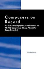 Composers on Record