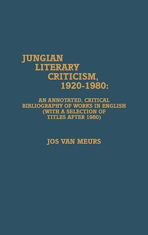 Jungian Literary Criticism, 1920-1980