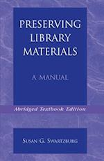 Preserving Library Materials