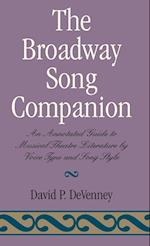 The Broadway Song Companion af David P. DeVenney