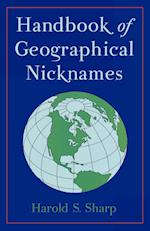 Handbook of Geographical Nicknames