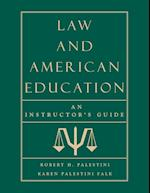 Law and American Education
