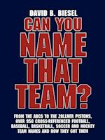 Can You Name that Team?
