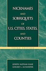 Nicknames and Sobriquets of U.S. Cities, States, and Counties
