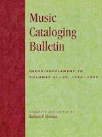 Music Cataloging Bulletin
