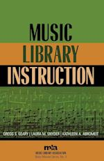 Music Library Instruction (MUSIC LIBRARY ASSOCIATION BASIC MANUAL SERIES, nr. 3)