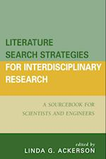 Literature Search Strategies for Interdisciplinary Research