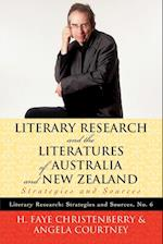 Literary Research and the Literatures of Australia and New Zealand (Literary Research: Strategies and Sources, nr. 6)