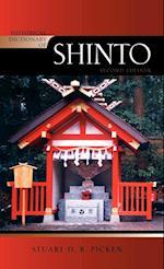 Historical Dictionary of Shinto af Stuart D B Picken