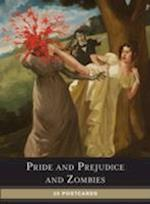 Pride Prejudice Zombies Postcrd Book