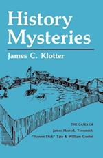 History Mysteries (New Books for New Readers)