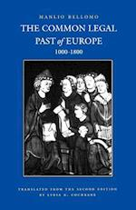 Common Legal Past of Europe, 1000-1800 (Studies in Medieval Early Modern Canon Law, nr. 4)