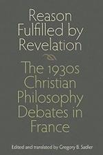 Reason Fulfilled by Revelation