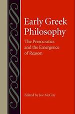 Early Greek Philosophy (STUDIES IN PHILOSOPHY AND THE HISTORY OF PHILOSOPHY)